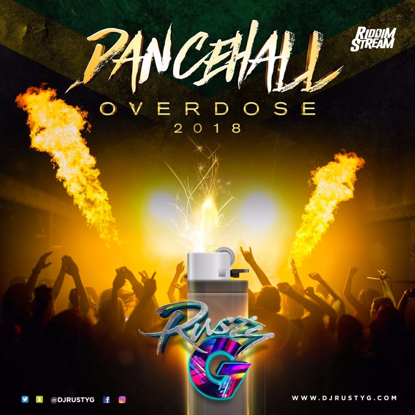 Dancehall Overdose 2018 (Dancehall Mix) - Raw DJ Rusty G's podcast
