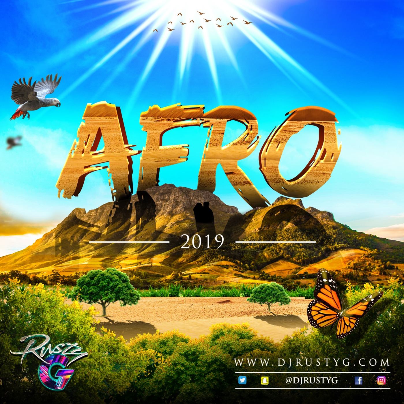 Afro 2019 (Afrobeat Mix) DJ Rusty G's podcast