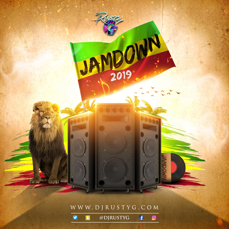 Jamdown 2019 (Reggae Mix) DJ Rusty G's podcast