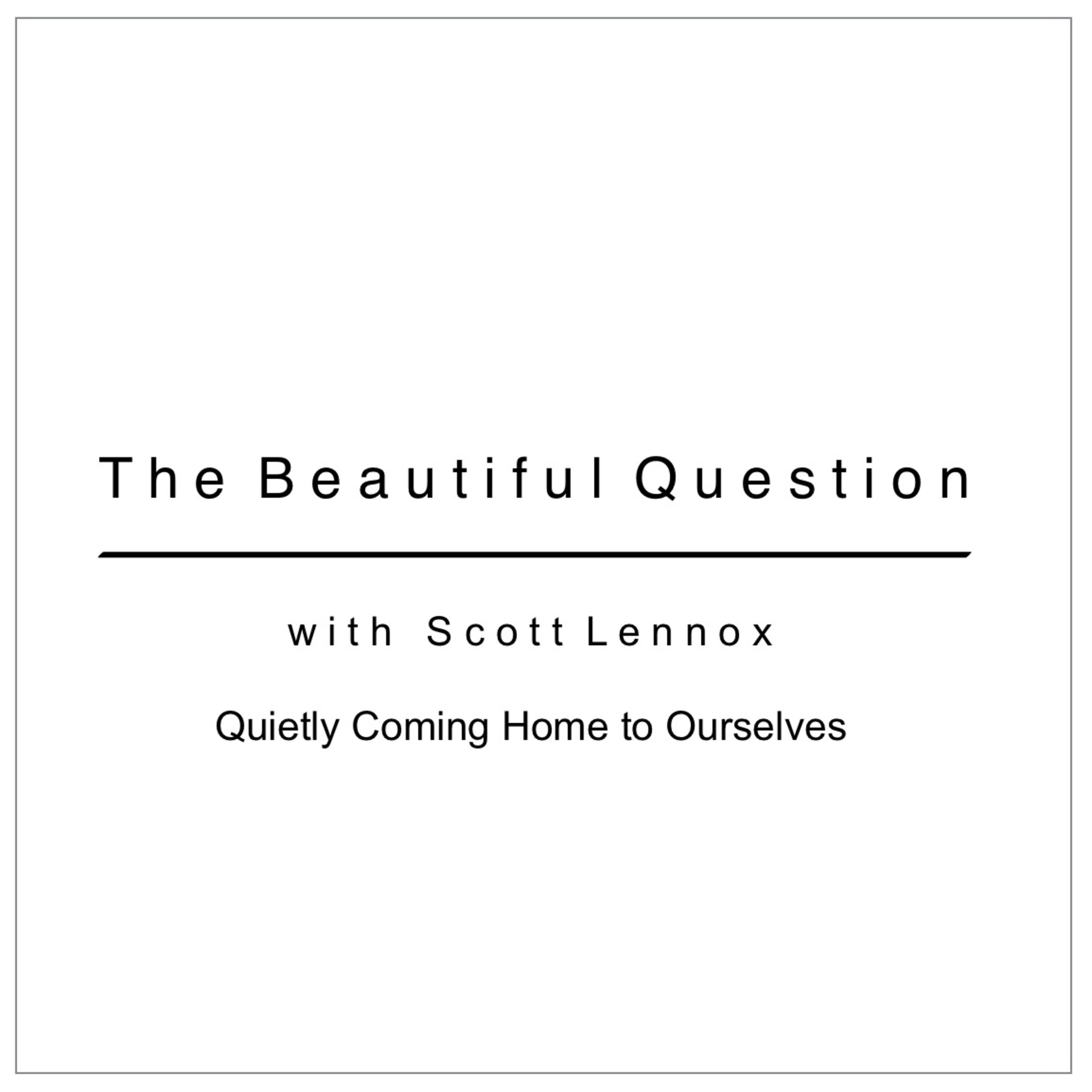 Quietly Coming Home to Ourselves