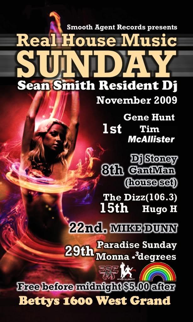 Sean Live @ Betty's 10/11/09