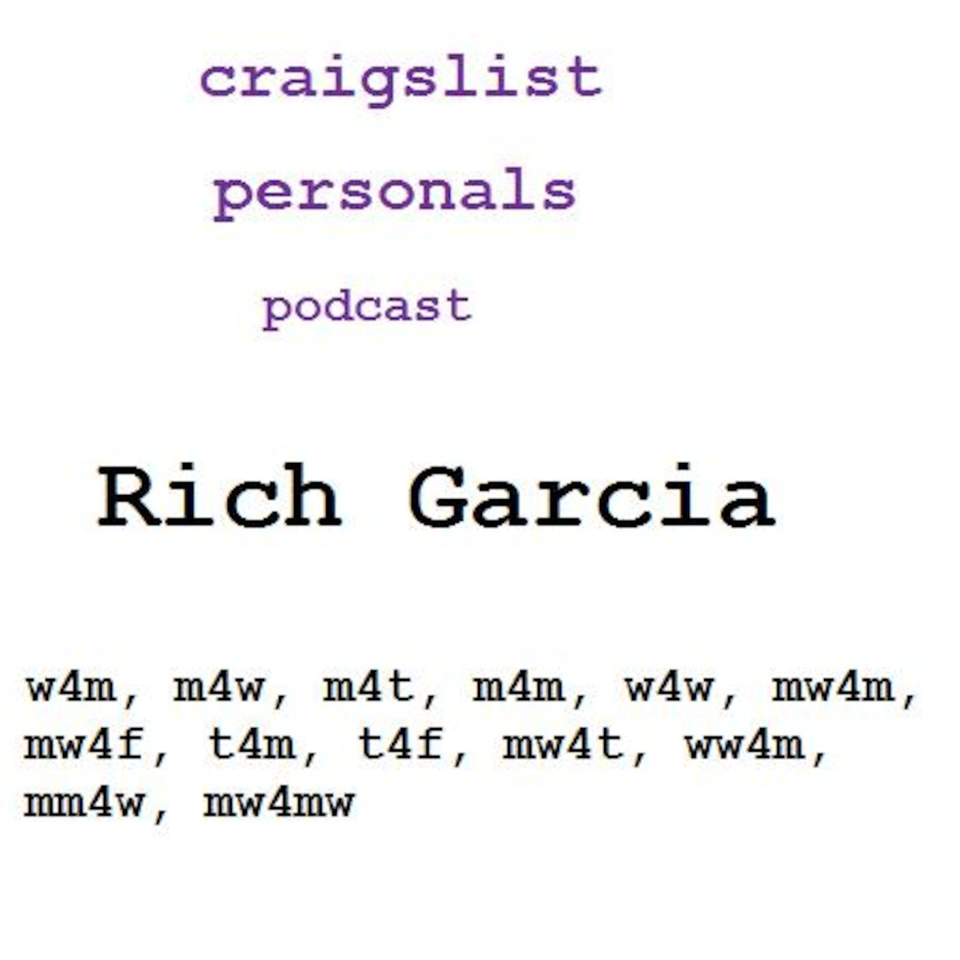 Craigslist personals t4m