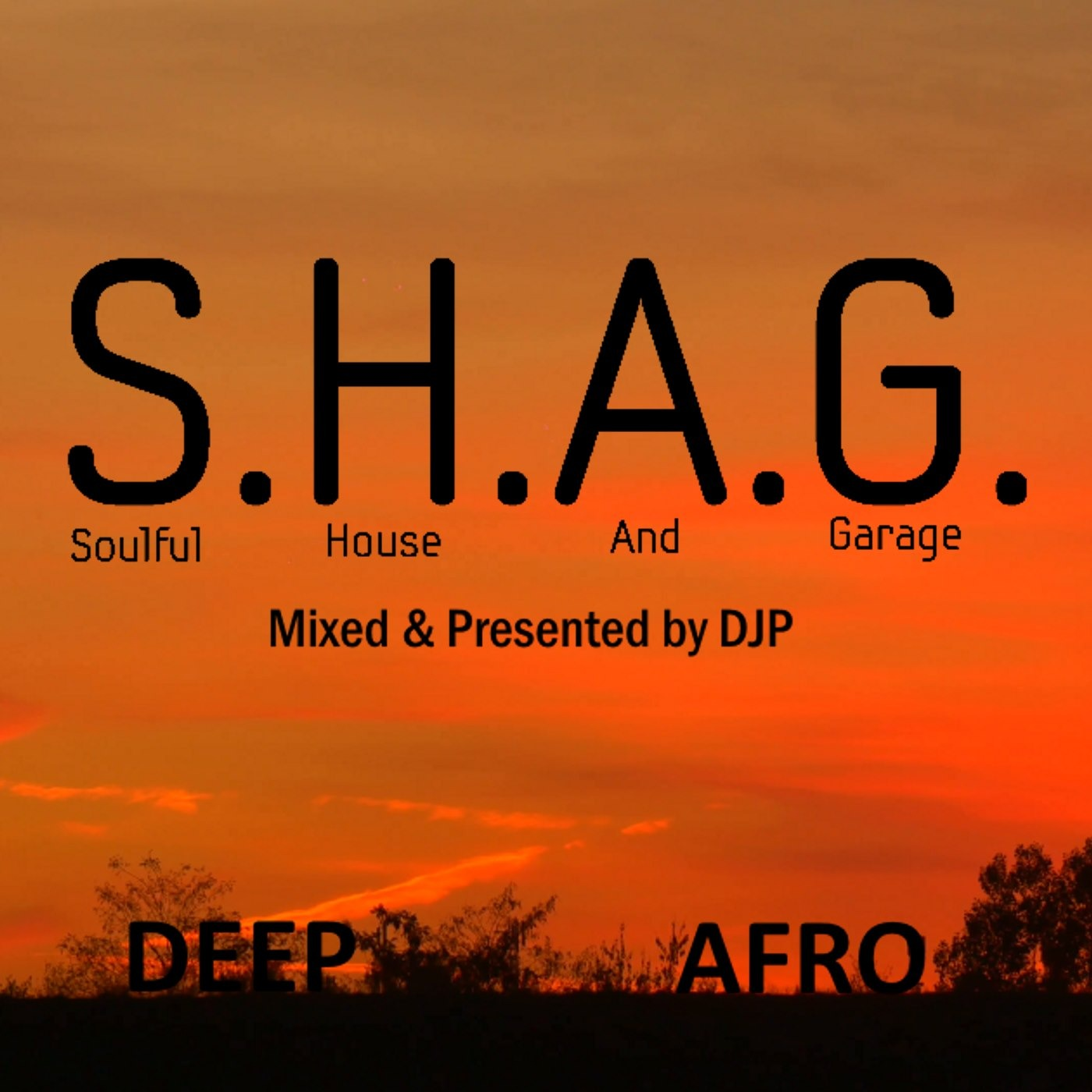 DJP SHAG 8-oct-18 DEEP AFRO HOUSE MIX DJP's S H A G  Soulful