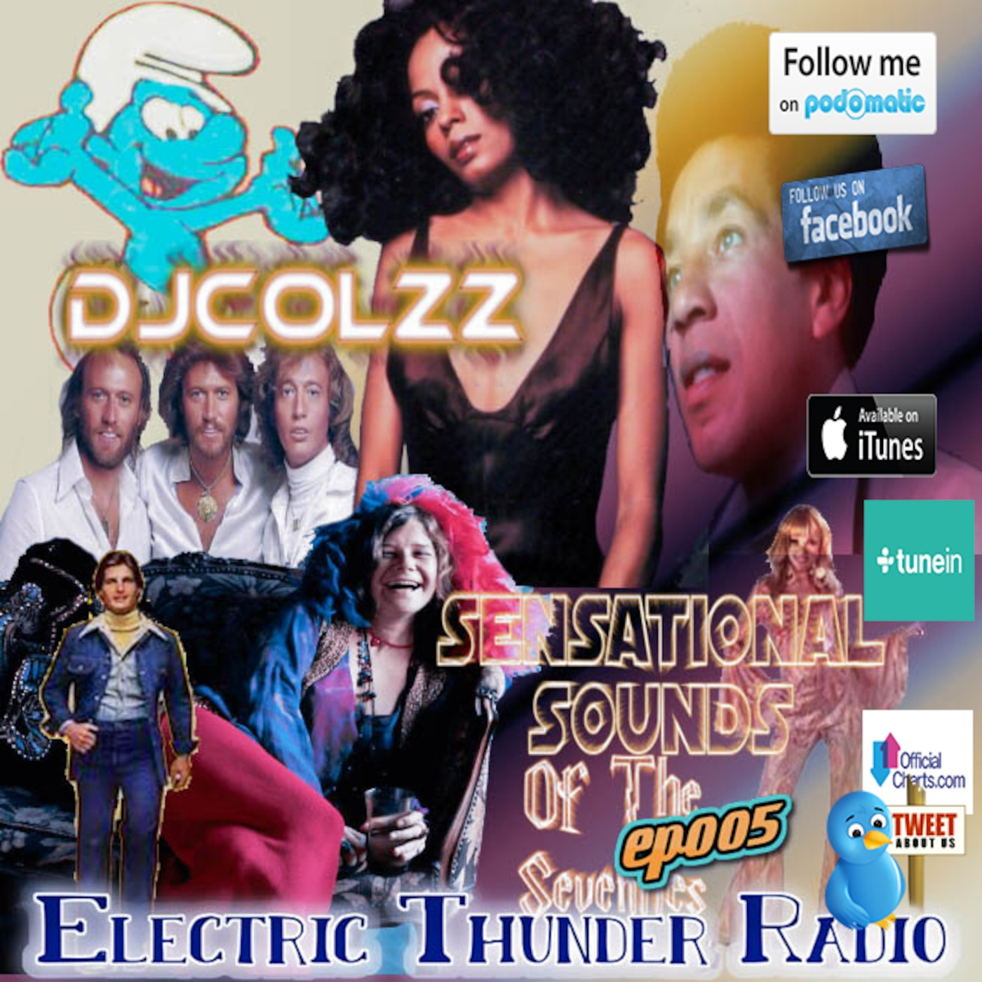 Sensational Sounds Of The 70s Ep005 Electric Thunder Radio podcast