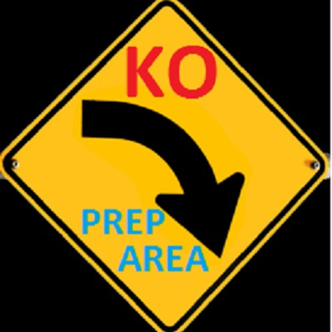 KO to Prep Area