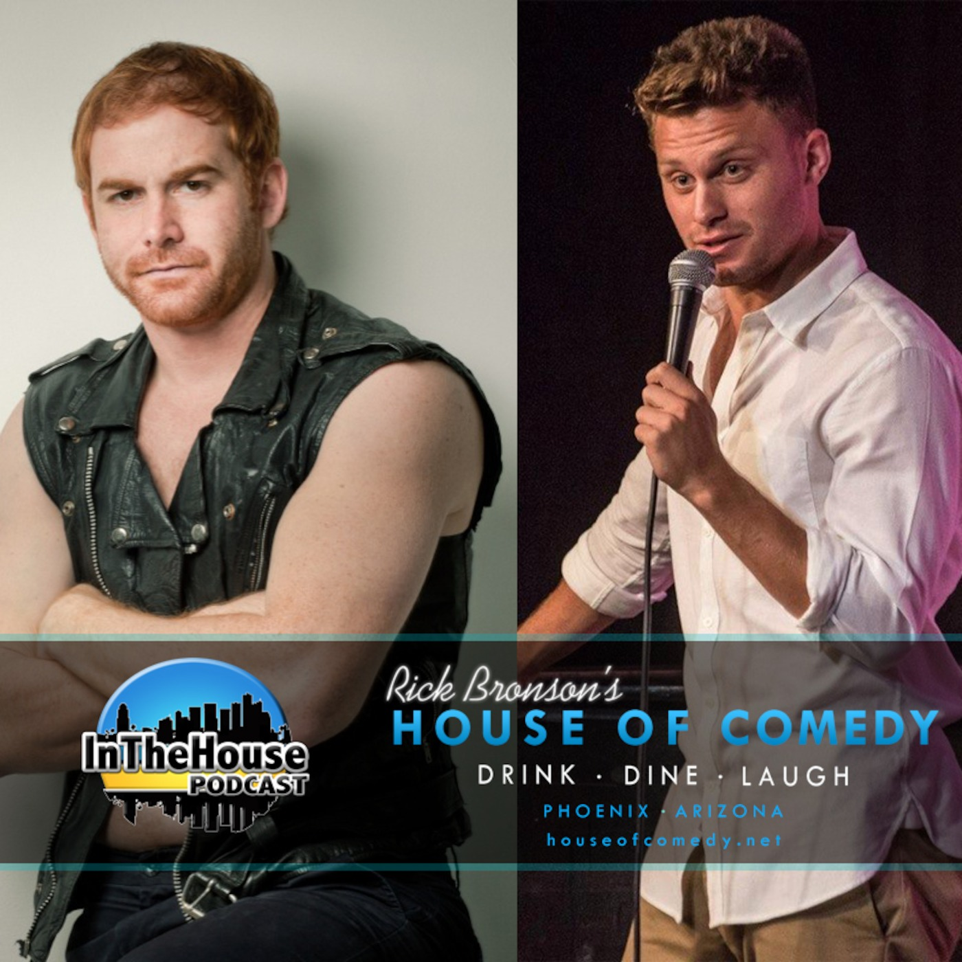Andrew Santino And Jon Rudnitsky In The House podcast