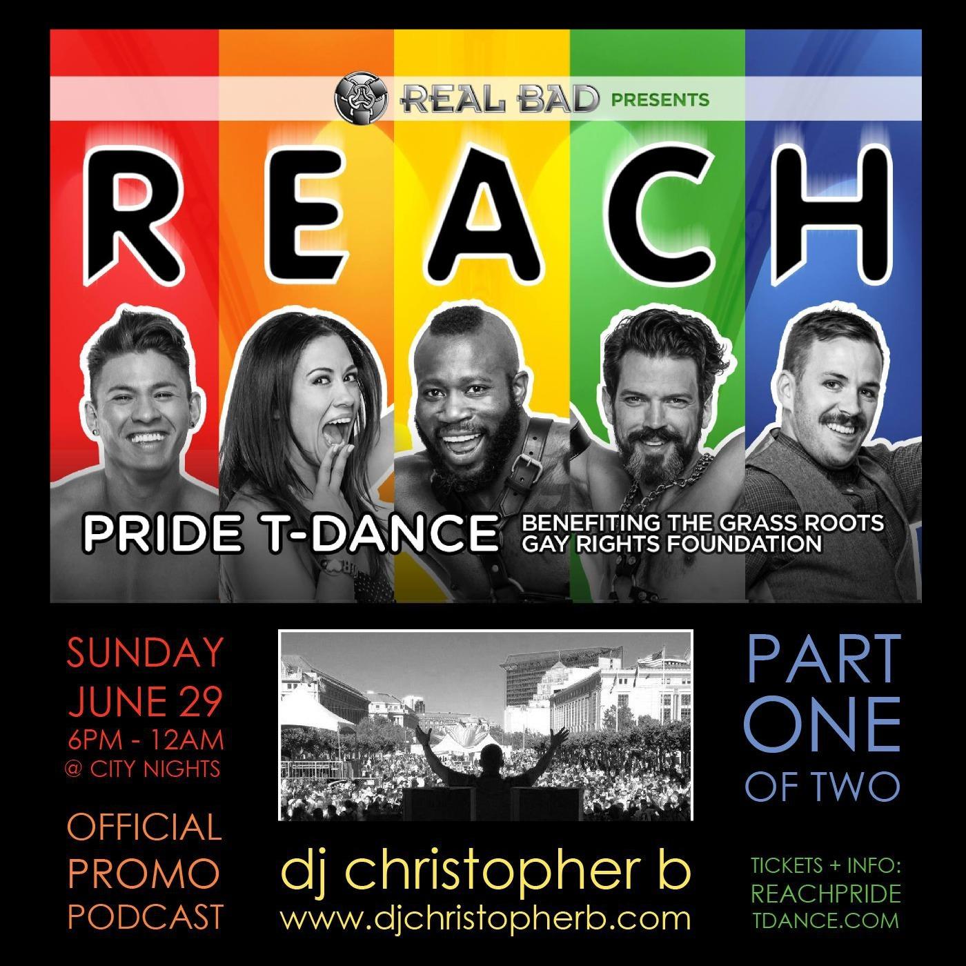 REACH / Part One - Dj Christopher B (podcast)