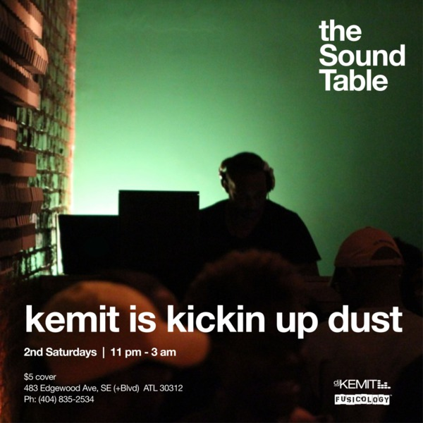 DJ Kemit presents Kickin' Up Dust July 2012 Promo Mix
