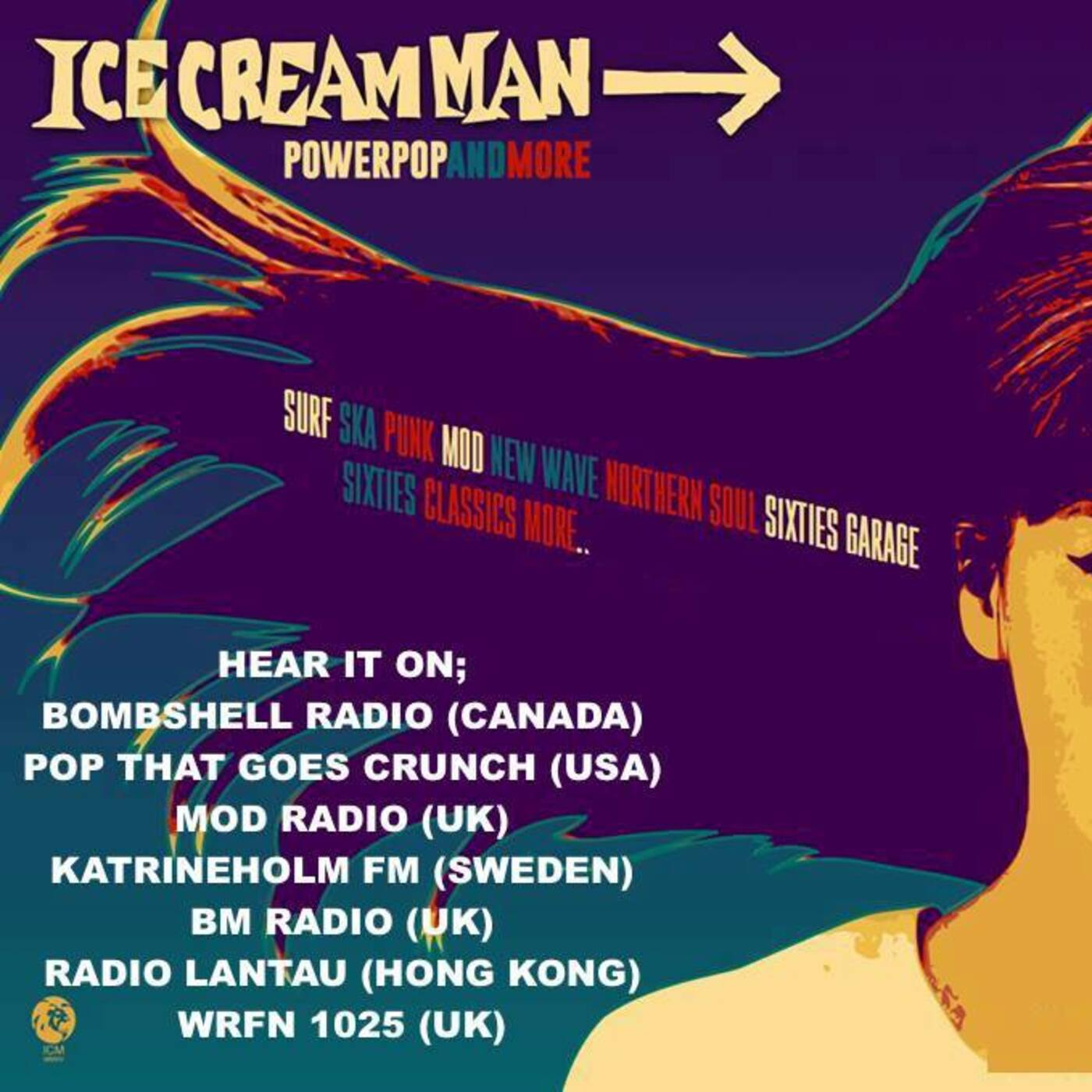 Ice Cream Man Power Pop and More #237