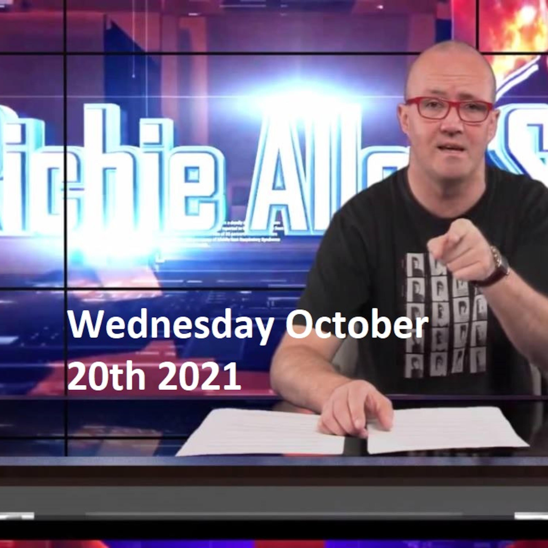 Episode 1351: The Richie Allen Show Wednesday October 20th 2021