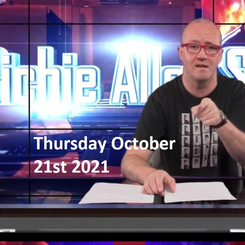 Episode 1352: The Richie Allen Show Thursday October 21st 2021