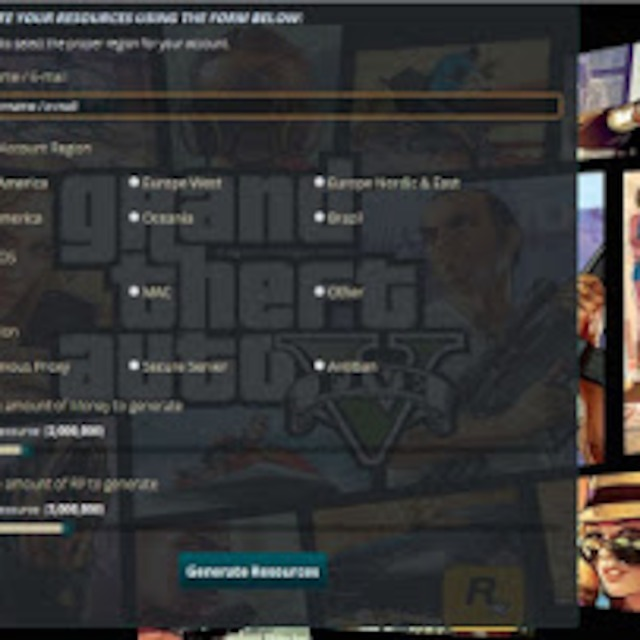 gta 5 online generator for free money and rp