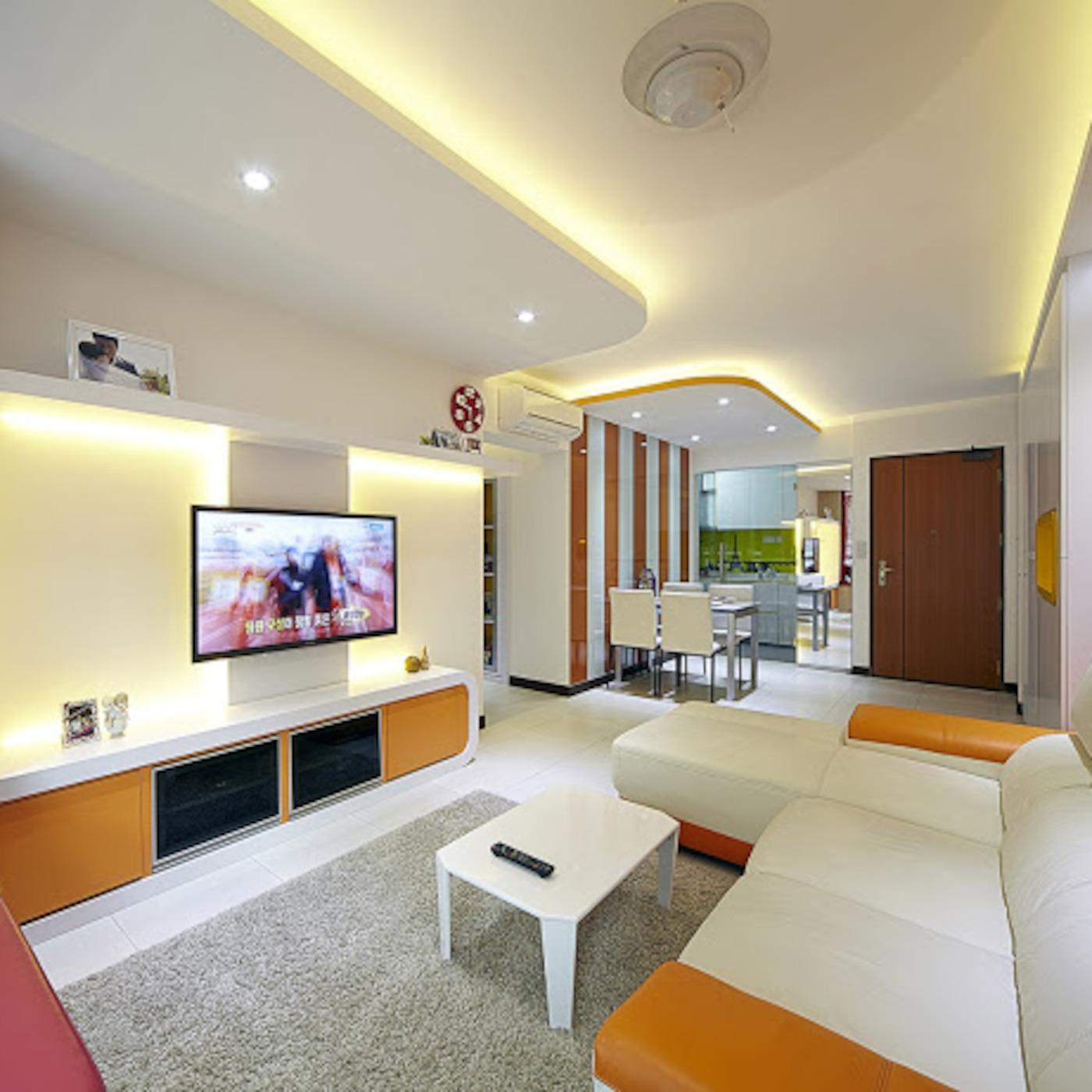 3 Room Flat 3 room hdb interior design singapore