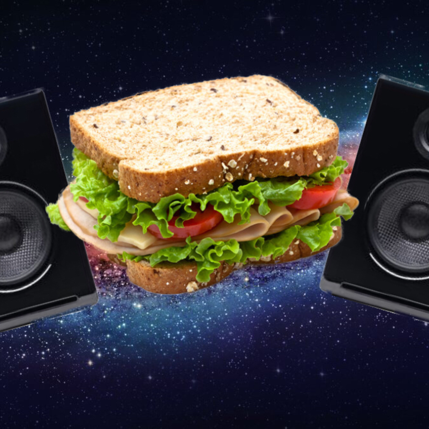 Podcast in a sandwich