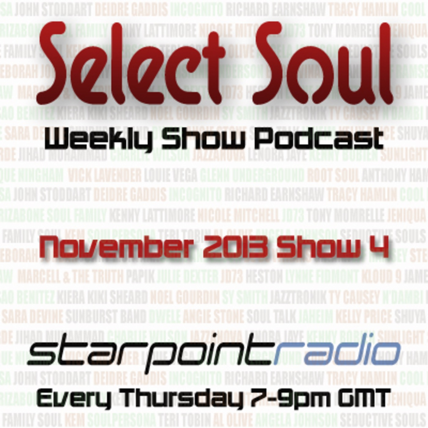 Select Soul Show - November 28th MP3