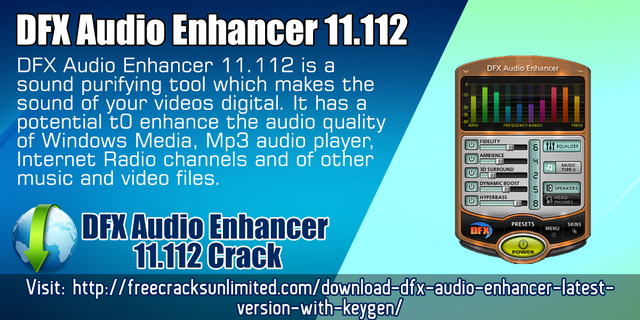 dfx audio enhancer 11.112 full version free download