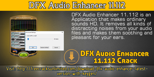 Dfx audio enhancer keygen | DFX Audio Enhancer 3 018 Crack