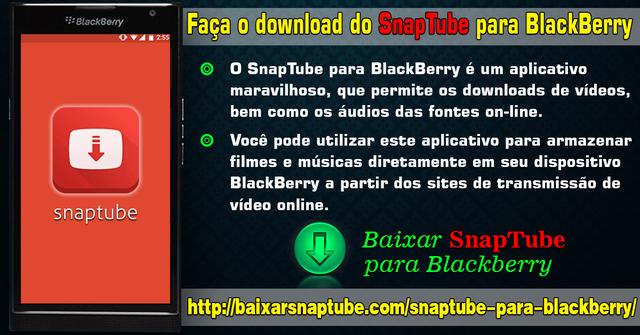 Faça o download do SnapTube para BlackBerry   Free Podcasts   Podomatic