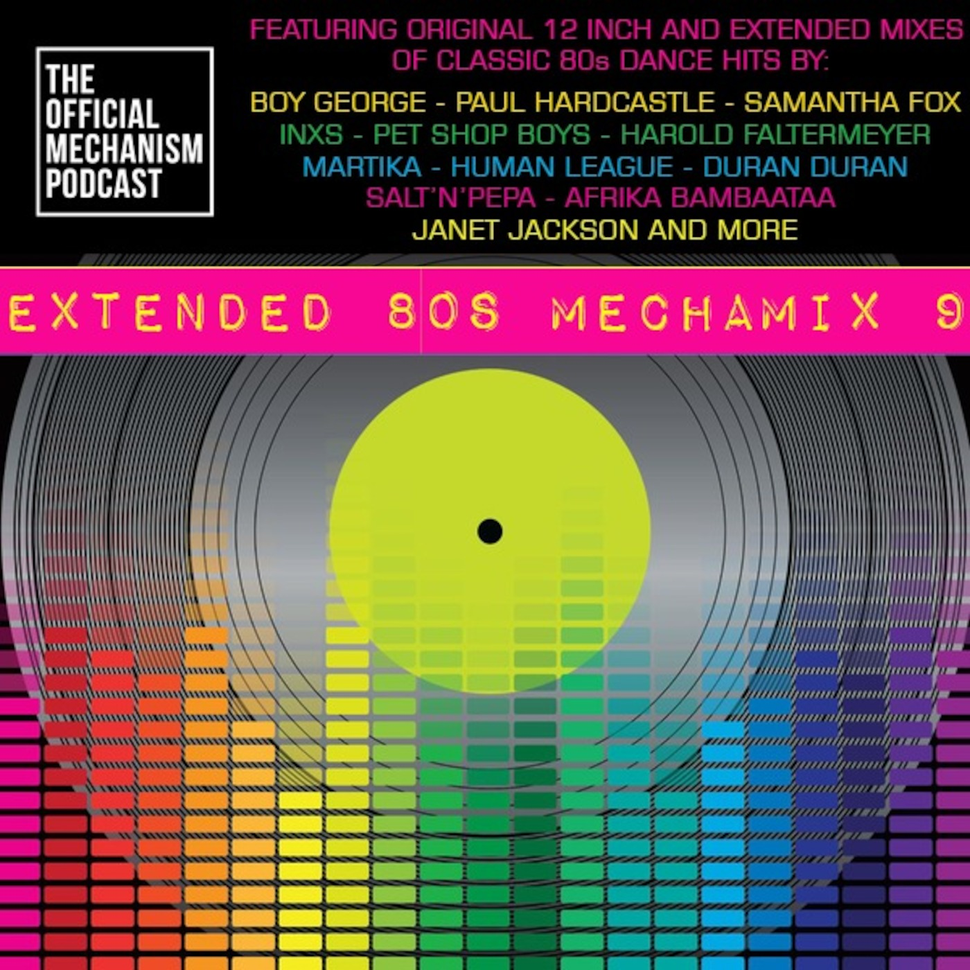 885 - EXTENDED 80's MECHAMIX 9 THE OFFICIAL MECHANISM podcast