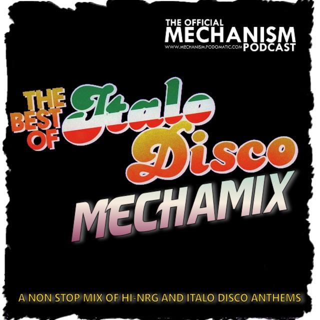 841 - THE BEST OF ITALO DISCO MECHAMIX