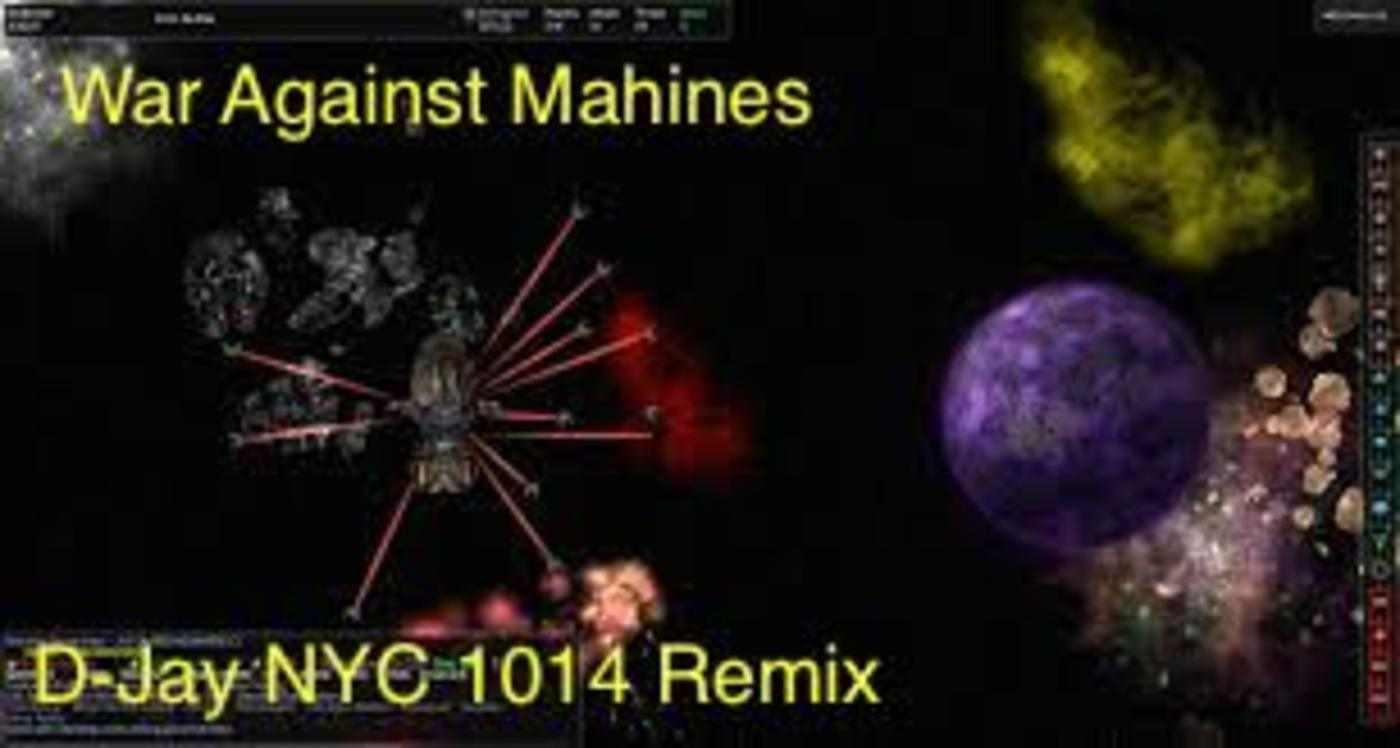 Angelfist war against the machines-remix (d-jay nyc ) d-jay nyc podcast