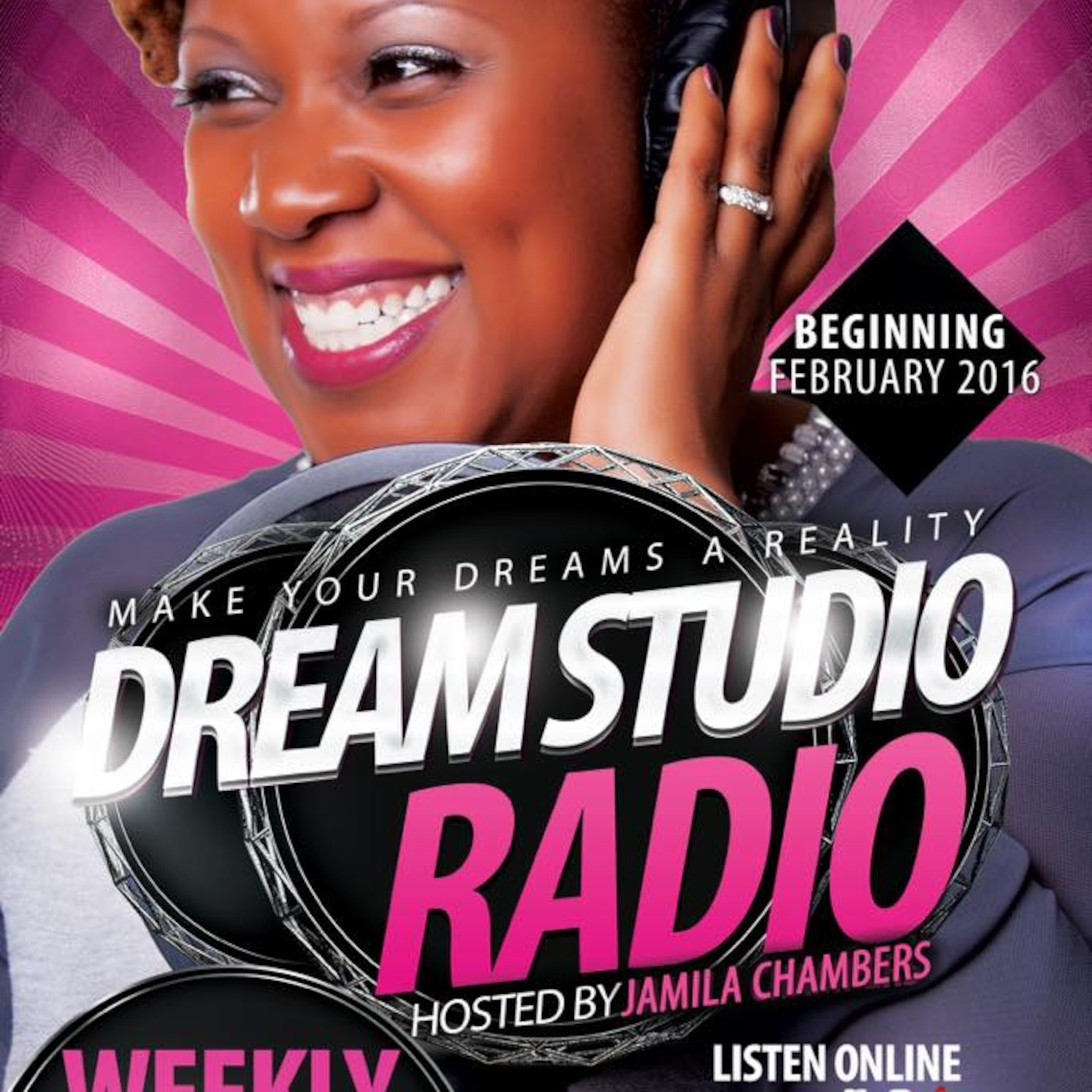 Dream Studio Radio with Jamila Chambers