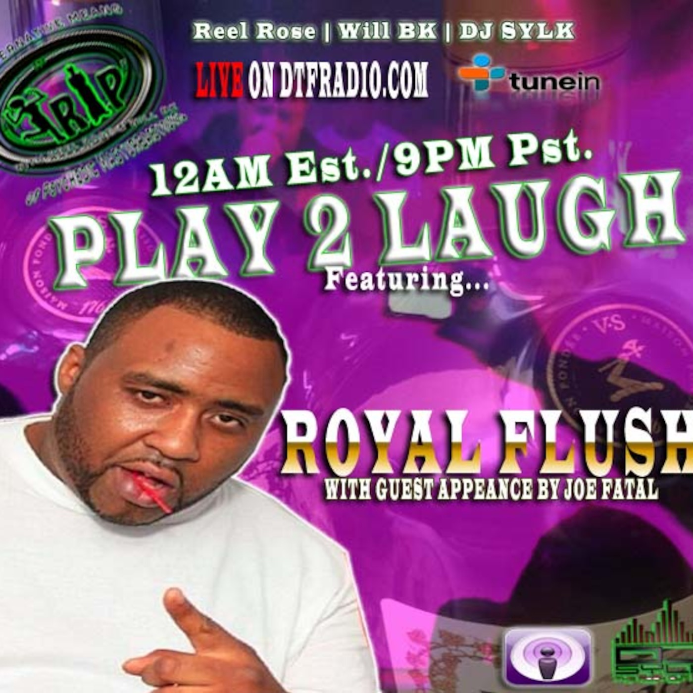 Episode 7-ROYAL FLUSH & JOE FATAL THE TRIP RADIO SHOW With